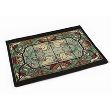 Arts and Crafts Thistle and Rose Bud Placemat (Set of 4)
