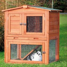 Brown Small Animal Hutch