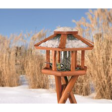 Deluxe Wooden Gazebo Bird Feeder