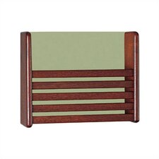 1 Pocket Magazine Rack with Front Slats