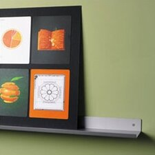 Envision® Wall Mounted Aluminum Shelf with Lip