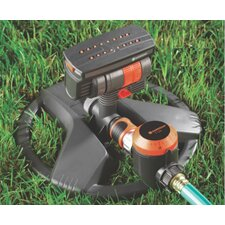 ZoomMaxX Sprinkler on Sled Base with Water Timer
