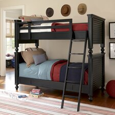 All American Twin Over Full Bunk Customizable Bedroom Set