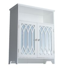 """St. Croix 24.75"""" x 32"""" Mirrored Free Standing Cabinet"""