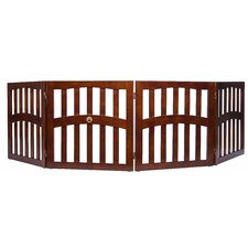 Keno 4 Panel Convertible Dog Gate