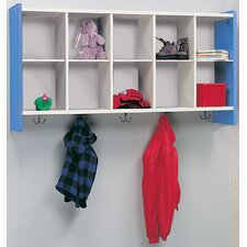 1000 Series 10-Cubbie Wall Storage