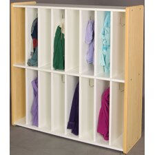 1000 Series 16-Section Cubbie Spacesaver Locker