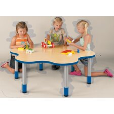 """""""My Place"""" Activity Round Geometric Classroom Table"""