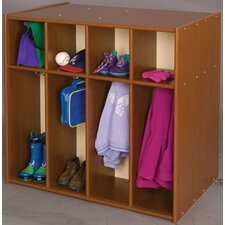Vos System 1 Tier 4 Wide Toddler Locker