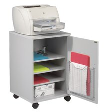 Single Fax and Laser Printer Stand