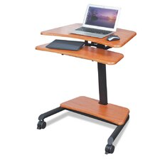 Up-Rite Mobile Sit/Stand Workstation