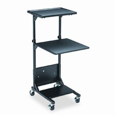 BALT® Adjustable Printer Stand with 2 Shelves