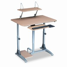 BALT® Ergo Sit/Stand Workstation AV Cart