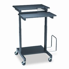 BALT® Web A/V Stand-Up Workstation AV Cart