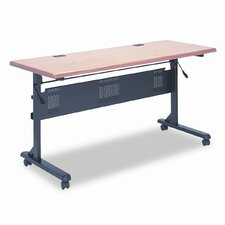 Flipper Training Table Base, 53-1/4w x 23-1/2d x 28-1/4h, Black