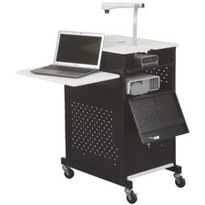 Optima GM Document Camera Security AV Cart
