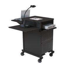 Extra Wide Presentation Cart Shelf