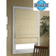 Richmond Cordless Thermal Backed Roman Shade with Blackout Fabric