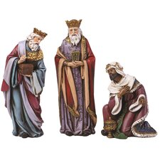 3 Piece 3-Kings for Nativity Set