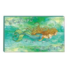 I Sea Life Siren of the Sea Mermaid Graphic Art on Wrapped Canvas