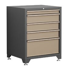 "Pro Series 28"" W 5 Drawer Bottom Cabinet"