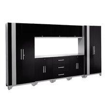 Performance Series 6' H x 11' W x 1.5' D 9 Piece Cabinet Set