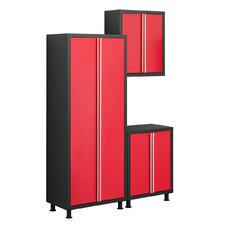 Bold Series 3-Piece Base Cabinet Set