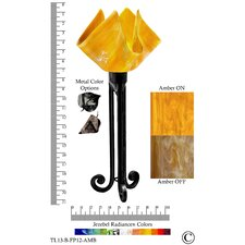 """Radiance Torch 20"""" H Table Lamp with Novelty Shade"""