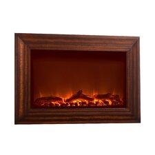 Wood Wall Mounted Electric Fireplace