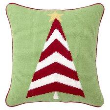Trim A Tree Needlepoint Throw Pillow