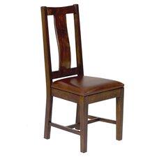 Saddler Wood Back Side Chair