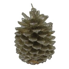 Realistic Pinecone Candle (Set of 2)