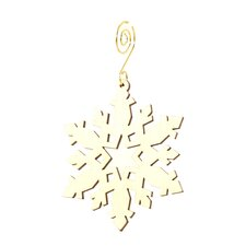 Star Snowflake Ornament