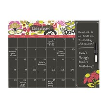 WallPops Eden Monthly Calendar with Notes Board Wall Decal