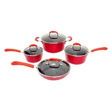 Nonstick Ceramic 8 Piece Cookware Set