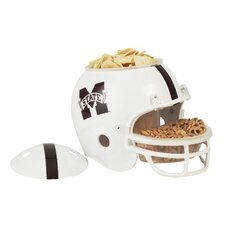 NCAA Snack Helmet Chip & Dip Tray