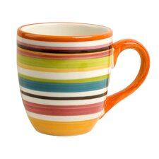 Rio Multistriped 14 oz. Mug (Set of 4)