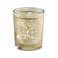 Golden Renaissance Glass Tealight Holder (Set of 16)