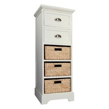 Newport 2 Drawer 3 Basket Chest