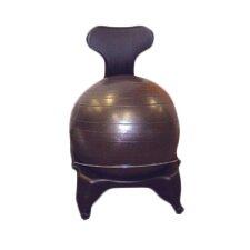 Plastic Mobile Ball Chair