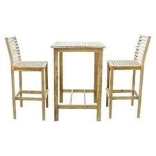 Renaissance 3 Piece Dining Set