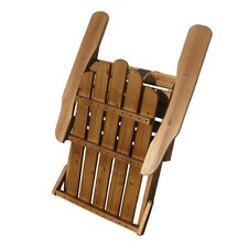 Wood Folding Adirondack Chair
