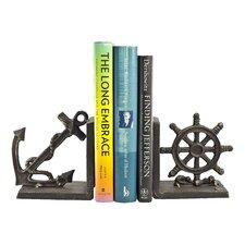 Nautical Iron Bookend (Set of 2)