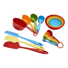 17 Piece Silicone Baking Utensil Set
