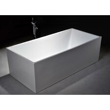 "Long Beach 60"" x 29.5"" Soaking Bathtub"