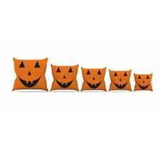 Pumpkin Treat Cotton Throw Pillow