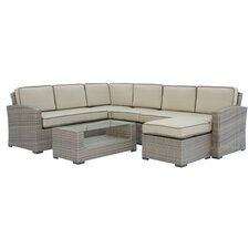 Ferrara 7 Piece Deep Seating Group with Cushions