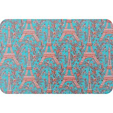 Eiffel Tower Laminated Placemat (Set of 2)
