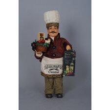 Classic Home Tuscan Kitchen Chef Figurine