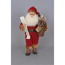 Christmas Vintage Past Santa Figurine